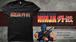 Ninja Gaiden Shirt Design by Moelleuh