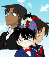 Detective Conan couples by Charlotte-Holmes