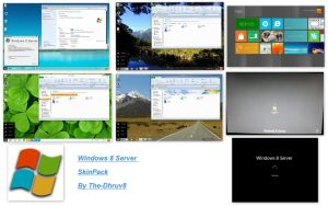windows 8 Server Skin Pack 2.0 X64 by TheDhruv