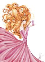 Sleeping Beauty with perfume by frozen-winter-prince