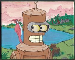 Bender and His Pecker by opia
