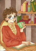 :C: ACEO 32: Brown and Beige by NeMi09