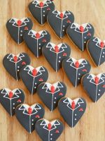 Groom Biscuits by Rebeckington