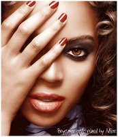 Colorize Beyonce Knowles by Giraffina