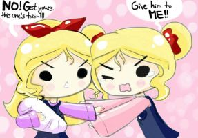 Give him to me!! by DanaDani