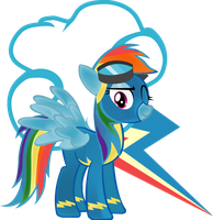 Velvet Wonderbolt Dash by LottaPotatoSalad
