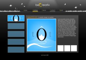 beCreativ template .02 by TheNeoShaman