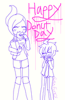 Happy Donut Day 2014 by CreepypastaGoth