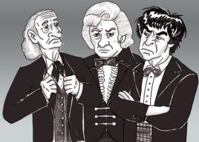 The Three Doctors by UnknownX