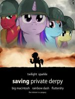 Saving Derpy by DOOM1945