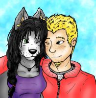 John and Tambi by sihisha