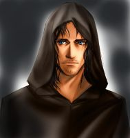 Aragorn under Mantle by idolwild