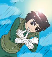 Rock Lee - Ready to Fight by Numbuh-9