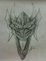 Dragon Face by ravage808