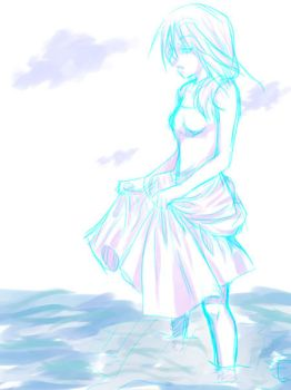Wading_Draft only by Shinmiri