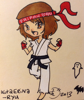 Eripon as Ryu from Street Fighter by PucchiQ