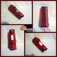 Bracer of Light - Tron Style by RawringCrafts