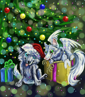 Happy New Year to you by whitecrow-soul