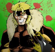 sabretooth by shivadestroyer