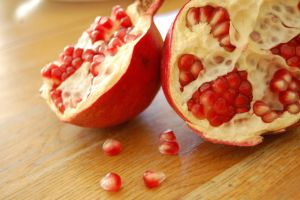 Pomegranates by alicealicenightfever