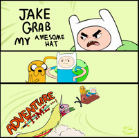 Jake, Grab My Awesome Hat by gnbman