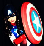 American Dream Cosplay - Shield Up! by ozbattlechick