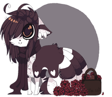 .: chibiw :. redie the kistune by skuIIy