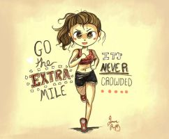 Go The Extra Mile by Chibi-Joey