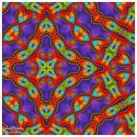 Colorful Birthday ~A Birthday Gift for ChasMandala by miincdesign