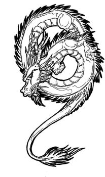 Chinese Dragon 2 by Galaxia