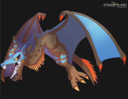 Starbound - Rakka by Dragonith