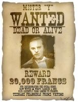 Mr. Y: Wanted by DarthxErik