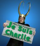 Je Suis Charlie - Loki Makes a Stand by LuckyLilith