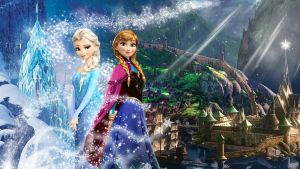 Frozen - 1920x1080 (Elsa and Anna of Arendelle 2) by CoGraphiC