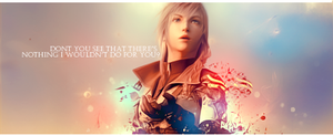 Final Fantasy XIII Lightning by Mercuphoria