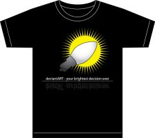 T-Shirt for bright people by zbyg
