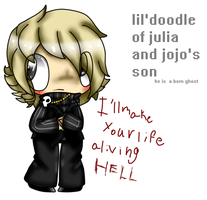 Julia And Jojo's Son by saltycuccumbers