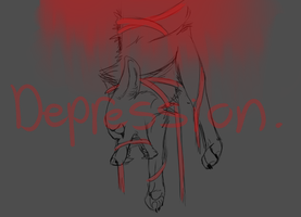 depression by the-lonely-fox