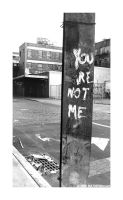 NY slums: You are not me by Maleficentia