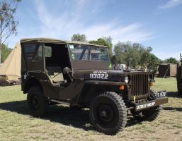 Jeep on display 1 by RedtailFox