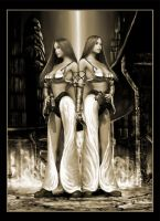 Twins of Utopic Freedom by royo12