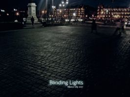 BLINDING LIGHTS by art-e-fact