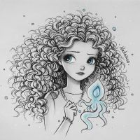 Little Merida by natalico