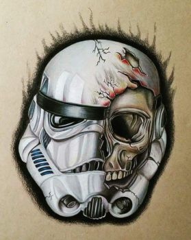Dead Stormtrooper by TristanTemplar