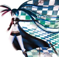 Black Rock Shooter - FADE by skyzen
