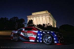 Veteran 1 Lincoln Memorial by pewter2k
