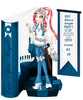 Ever After High OC:Bianca Knight by sbb09wojtanowiczk