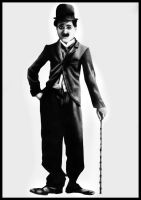 Charly Chaplin by hohenheim54