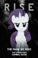 Rarity Dark Knight Rises Parody iPhone Wallpaper by AlphaMuppet