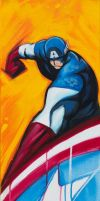 Captain America WEB by Hassan-Patterson